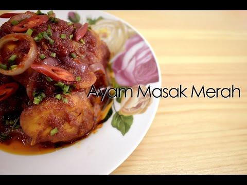 Ayam Masak Merah Eira Aziera Resep Masakan Khas