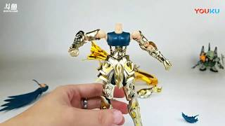 [Review] Aquarius Camus Saint Seiya SOG Divine armor Aurora model