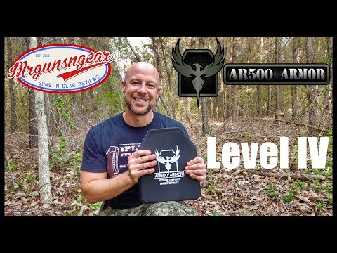 AR500 Level IV Stand Alone Composite Armor Plates Test & Review