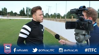 Olly Murs talks football, Ipswich Town and getting new showers installed at his local club!