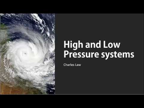 Chemistry ERT Weather systems and Charles Law