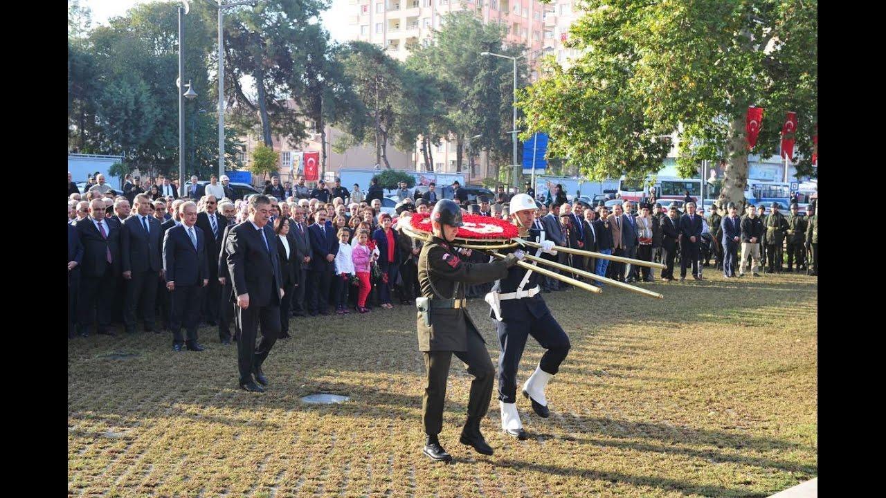10 Kasım Atatürk'ü Anma Günü Töreni