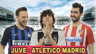 JUVE ATLETICO MADRID - L'ATTESA (Parodia)