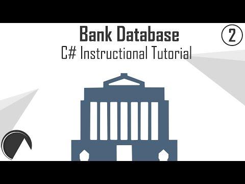 C# Let's Code: Bank Database Project Part 2 - Create User & Login