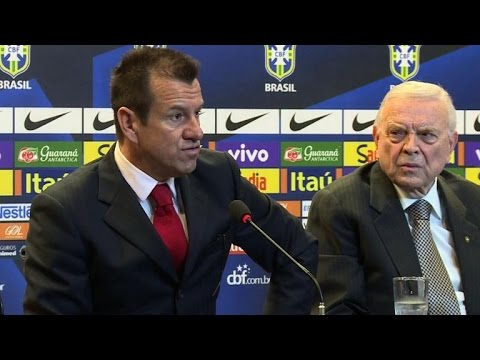 New coach Dunga vows to get Brazil football back on top
