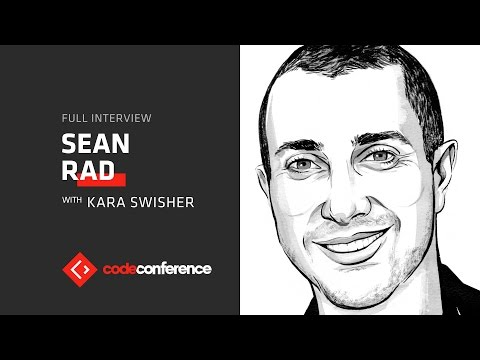 Swipe right for VR? | Sean Rad, CEO, Tinder | Code Conference 2016