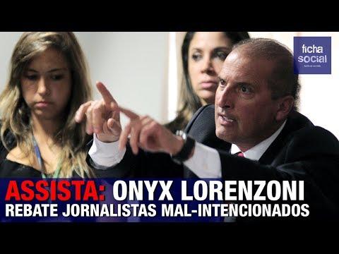 ASSISTA: ONYX LORENZONI REBATE JORNALISTAS MAL-INTENCIONADOS SOBRE O GOVERNO BOLSONARO
