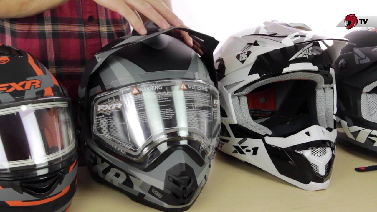 FXR Snowmobile Helmet Guide (2015) - YouTube
