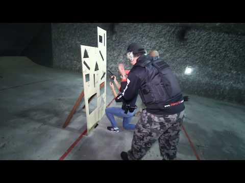 Dynamics pistol shooting drill