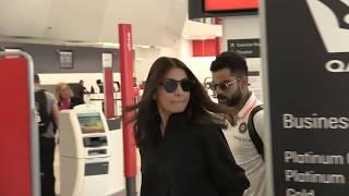'iNDIAN celebrities Virat Kohli & Anushka Sharma involved in heated exchange at airport' 15MOF