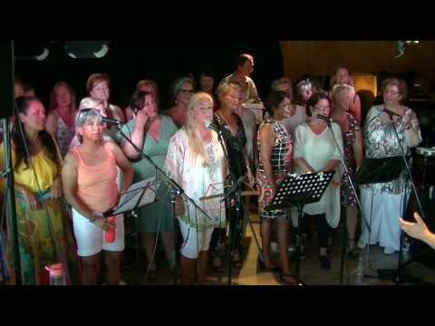 "Popkoor--Little Wing-""live"" at--Ottenhome Sessie  70 mfahw Juni 2017"