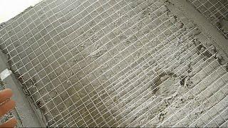 Самодельный раствор для стяжки ч.2(В ролике показан конечный результат изготовления стяжки из самодельного раствора,показано как приготовит..., 2014-08-10T14:03:49.000Z)