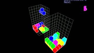 4D tetris clone
