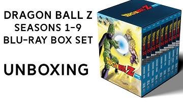 Dragon Ball Z Seasons 1-9 Blu-Ray Box Set Unboxing