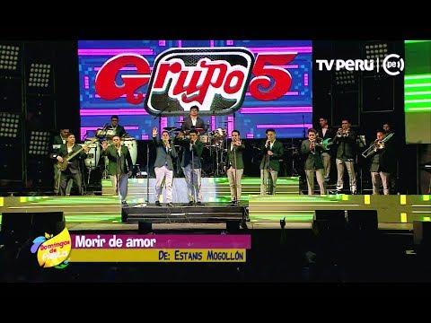 Grupo 5 - Alma Enamorada / Morir de Amor / La Culebritica (En Vivo)