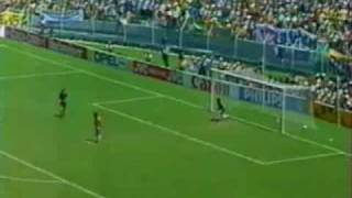 Cybersoccer-France vs Brazil Quarter-Final WC 1986