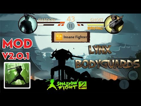 Shadow Fight 2 Mod V2.0.1 - Defeat Lynx Bodyguards With Upgraded Weapons Android Gameplay