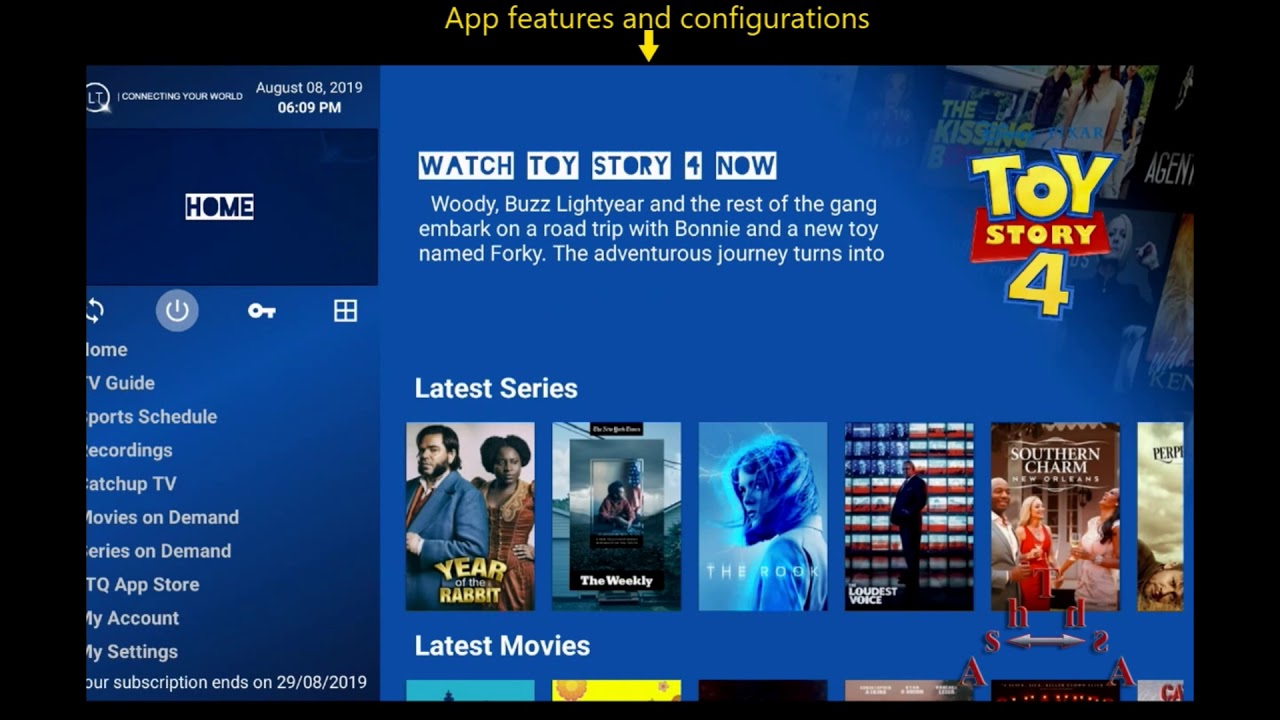 How to Install LTQ App on Android TV (NVidia Shield)
