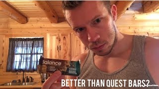 Honest Reviews: Balance Nutrition Bar - Cookie Dough