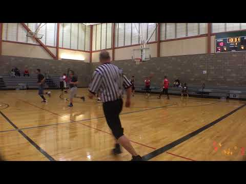 Gut Fitness Sports Adult Basketball League Season 9 week 6 Game 1 Avengers vs Jaguars