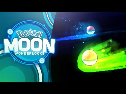 LET'S WONDER TRADE! - Pokemon Moon Wonderlocke Part 1 - MandJTV Playthrough
