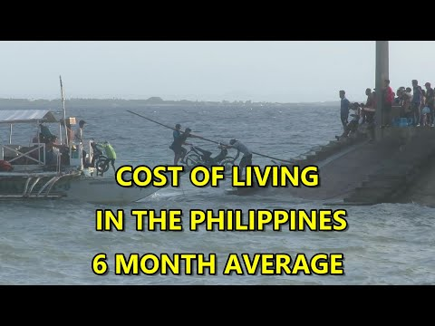 COST OF LIVING IN THE PHILIPPINES, 6 MONTH AVERAGE
