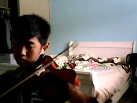 Big Bang - Love Song Violin Cover Dedicated To Melanie Taing :D HAPPY BIRTHDAY