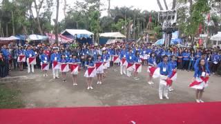 Đồng diễn semaphore - ĐHKT - Trại ĐHĐN 2014