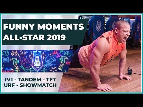 Funny Moments - LoL All-Star 2019 Las Vegas