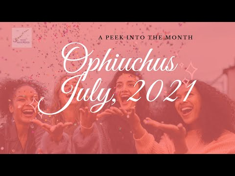 ⛎ OPHIUCHUS ⛎: Healing Wounds To Level Up - July