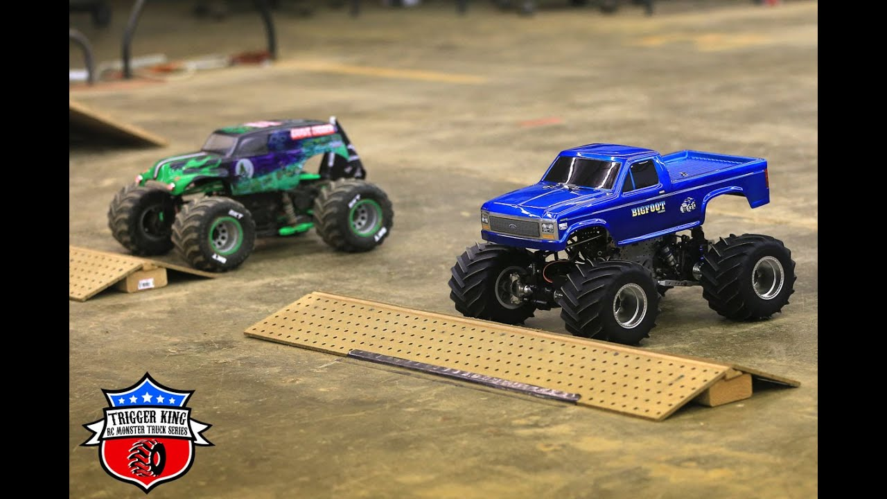 Trigger King R C Monster Trucks Winter Finals Modified