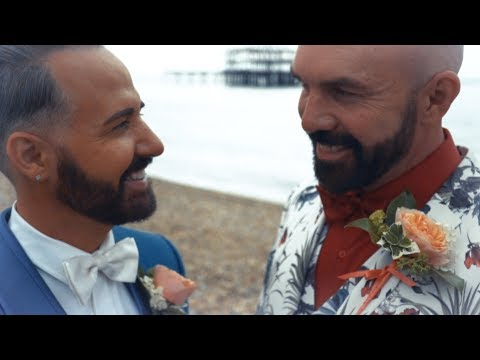 The Fairytale Wedding of Chris & Tony Butland-Steed