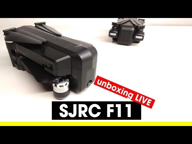 SJRC F11 Anteprima! Il fratello grande e brushless del SJRC Z5