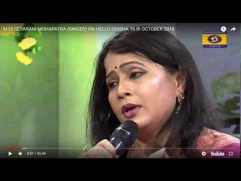 Seba Mohapatra odia SINGER ON HELLO ODISHA