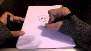Watch me draw: creeper girl!!