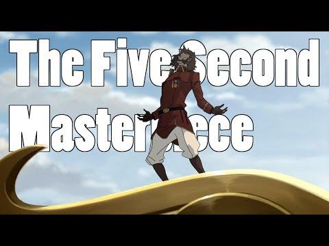 Legend of Korra - Bumi The Five Second Masterpiece