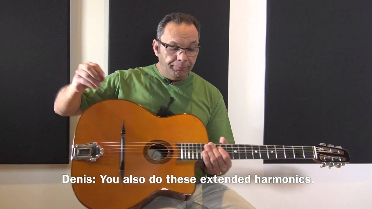 bireli lagrene guitar lesson behind the sc with loop