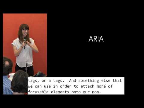 07 Chandra Carney: Develop with Accessibility in Mind