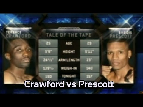 FULL Fight : Terence Crawford Vs Breidis Prescott   March 30 2013 Buds Breakout Fight