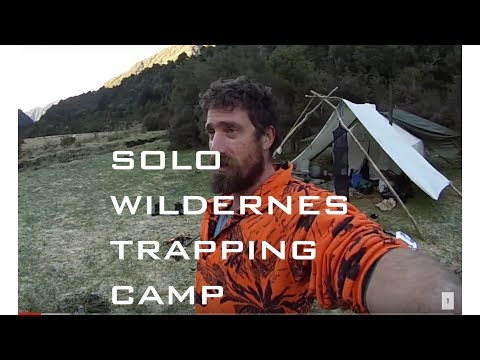 solo fur trapping New Zealand Wilderness Josh James