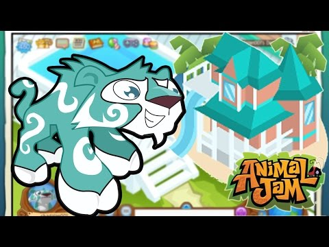 Animal Jam / My Brand New Beach House Tour! / Gamer Chad Plays