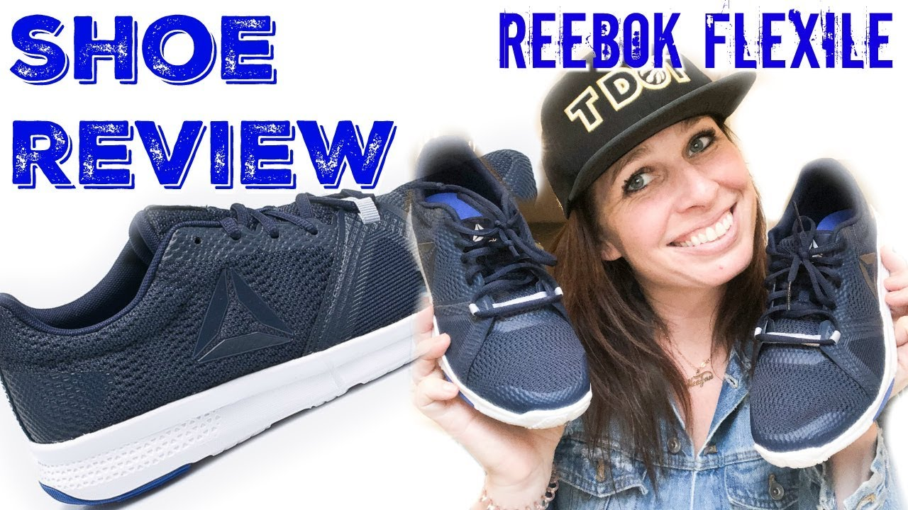SHOE REVIEW: Reebok Flexile - YouTube