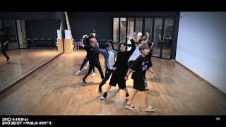Wanna One Burn It Up dance practice (mirror)