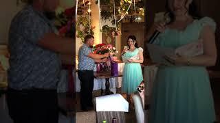 Супер поздравление на свадьбе