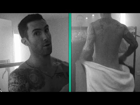 Adam Levine Bares His Butt in Maroon 5's Sexiest Video Yet!