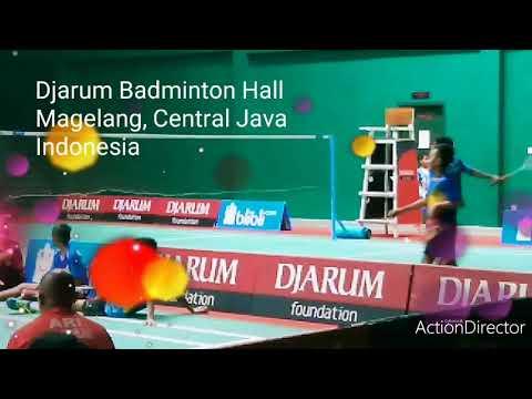 Regular Practice At Djarum Badminton Hall (Magelang)