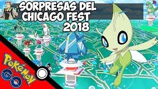 Raids Legendarios en Japon Pokemon GO con Joystick - Sorpresas del Festival en Chicago 2018