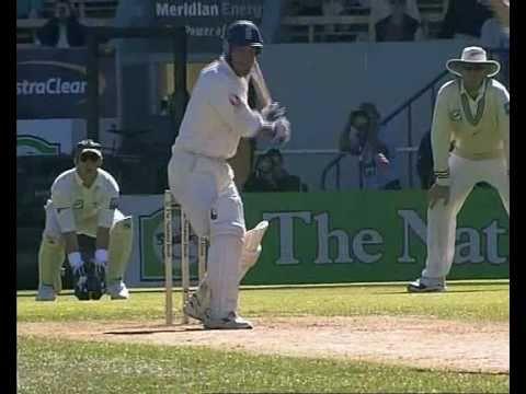 Graham Thorpe 200* & Andrew Flintoff 137 Vs New Zealand 1st Test 2002