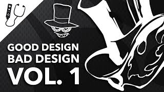 Good Design, Bad Design - The Best & Worst of Graphic Design in Games ~ Design Doc