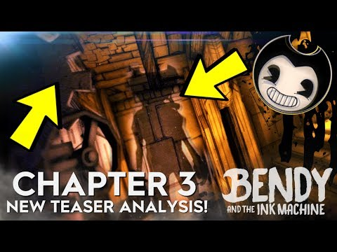 NEW BATIM CHAPTER 3 TEASER! (Bendy and the Ink Machine Chapter 3 Teaser Image Analysis)